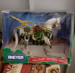 Breyer Holiday Horse 2003 quot;Silent Knightquot; in box