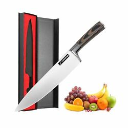 Sharp Knives for Kitchen8 Inch Cooking Knives for Fruit and Meat with Profes...