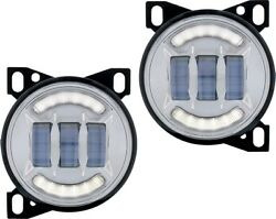 Kw T660 Fog Light Led Cree Fits Oem Plugs Right And Left Driving Lights 36605