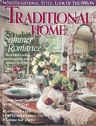 Traditional Home June 1990 Furniture For Kids, Antique Hair Jewelry