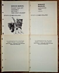 New Holland 1880 Harvester Hydrostatic Motor Pump Pto And Variator Service Manuals