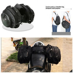 Durable Motorcycle Saddle Bags Luggage Pannier Helmet Tank Bags WBand 36-58L