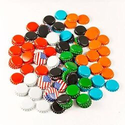120 Count Crown Beer Bottle Caps-white