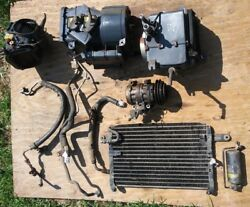 1986 toyota corolla sr5 ae86 coupe 4ac air conditioning system heater evaporator
