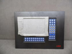 Abb D-1g10085 Industrial Touch Screen Monitor Interface Panel -new-