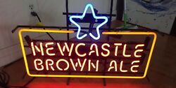 New Newcastle Brown Ale Beer Neon Sign