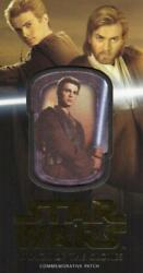 Attack Of The Clones Widevision 3d Patch Card Anakin Skywalker Gold 01/10 Mp-2
