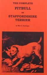 Pit Bull historical book The Complete Pitbull or Staffordshire Terrier