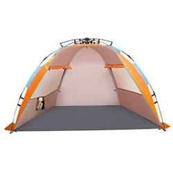 X-Large Sun Shelters 4 Person Beach Tent Durable Portable Shade Summer With Bag