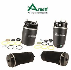 For Land Rover Range Rover 4.4l 2 Front And 2 Rear Suspension Air Springs Kit