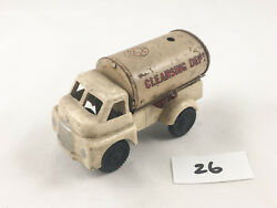 Wells Brimtoy Pocketoys Bedford S Type Cleansing Dept Truck Lorry Friction Toy