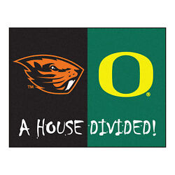 Fanmats 7653 Oregon - Oregon State House Divided Rug 33.75x42.5