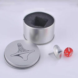 Inception Totem Zinc Accurate Spinning Top Gyro Dice Gyro Keyholder Gift