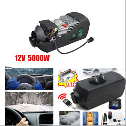 Air Diesel Heater Remote Controller LCD Switch+Silencer Kit For Boat Car Trailer