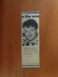 Vtg Wire Press Photo Actor Comedian Robin Williams Dead Poets Society Toys 11