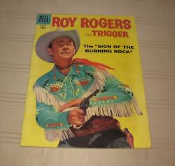 Vintage Dell Comic Books Roy Rogers And Trigger No 123 - 1958 Free Shipping