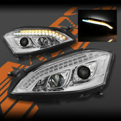 S65 AMG Style LED DRL Projector Head lights for Mercedes-Benz S-Class W221 06-09