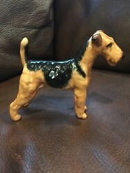 Royal Doulton Dog Breeds HN1024 Airedale Terrier 4