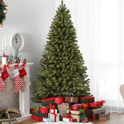 9 Ft Artificial Christmas Tree Large Classic Premium Spruce Hinged w Stand Green
