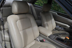 1991-2000 Toyota Soarer Replacement Leather Seat Covers Light Tan
