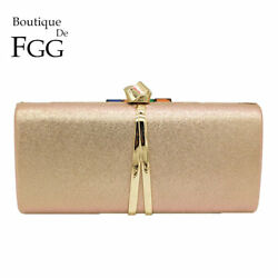 Fashion Women Day Clutches Ladies Formal Evening Bags Wedding Party Clutch Purse $13.99