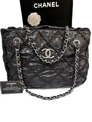 Chanel Jumbo Quilted Black Bag Leather Chain Shoulder Women's Bags