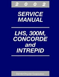 2002 300M Concorde Lhs Intrepid Shop Service Repair Manual Engine Electrical