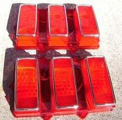 1969 Ford Mustang Led Tail Lights Easy Install Plug And Play108 Ledand039s Each