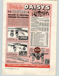 1958 Paper Ad Daisy Toy Frontier Scouting Rifle Kit Western Cowboy Gun Holster