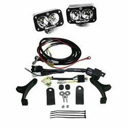 BAJA DESIGNS 650200BK Polisport EZ Mount Kickstart Headlight Kit Black Squadron