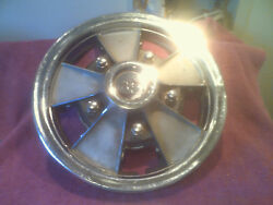 1967 Chevrolet Chevelle El Camino Ss Gm Hubcap 14 Inch Mag Style Free Shipping