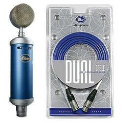 Blue Bluebird Mic Large Diaphragm Cardioid Condenser & Blueberry Cable Package