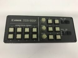 Canon TCR-301F 8 Position Preset Controller for YJ18, YH18, YH14, YH13 KTS Lense