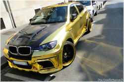 BMW X6 X6M 2008-2014-EVO FULL BODY KIT   Best quality  Best Look