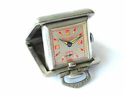 Rare Enicar Chronometer Cased Watch Expedition Watch Swiss 1950