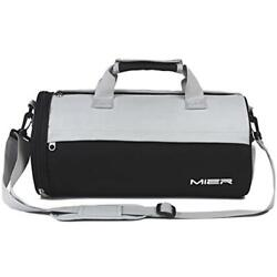 Barrel Sports Duffels Travel Bag For Women And Men Small Gym With Shoes