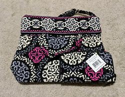 Vera Bradley Zip-around Tote And Matching Wallet In Canterberry Magenta Nwt