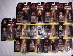 Star Wars Episode 1 Comm Tech Action Figures Very Rare all NIB Lot of 29