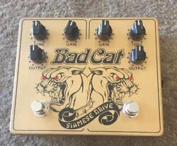 Used Bad Cat Siamese Drive Overdrive Guitar Effect Pedal
