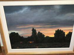 Stephen Day Andldquosummer Evening Color And Lightandrdquo Large Framed Oil Painting