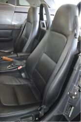 1996-2002 Bmw Z3 Replacement Leather Seat Covers Black