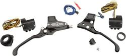 PM 3 Button Hand Controls Set (Contrast) 1984-2013 Big Twin 916