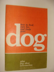 Ken L Ration How To Feed Care For And Train Your Pet Vintage Booklet Quaker Oats