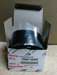 Genuine Toyota Camry Black Out Tape 75987-06060