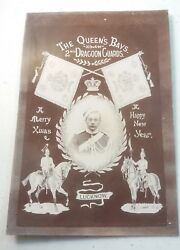1857 Lucknow India 2nd Royal Dragoons Queen's Bay Christmas Photo Portrait