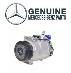 Ac Air Conditioning Compressor Genuine For Mercedes W220 S430 S500 S55 Amg V8