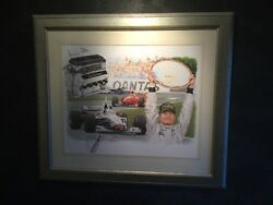 Rare Limited Edition Formula 1 Signed Picture