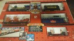 Northpole Christmas Express Musical Train Set In Original Box.