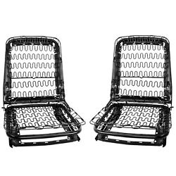19651967 Mustang Front Seat Back Frame Assembly Pair Back And Bottom W/spring Dii