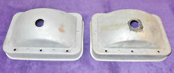 1967 1968 Mustang Fastback Gt Coupe Gta Convertible Orig L+r Tail Light Housings